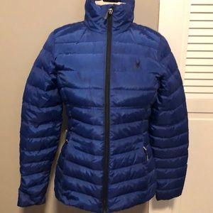 Spyder woman puffer jacket small